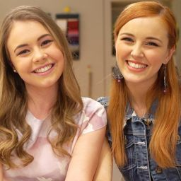 Мэгги и Бьянка в Академии моды