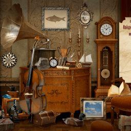 Найди предмет. Старинная зала