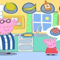 Свинка Пеппа. Вкусные блинчики