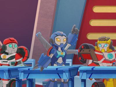Премьера! «Трансформеры. Боты-спасатели. Академия»