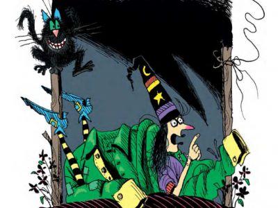 Отрывок из книги «Ведьмочка Винни и праздник для великана»