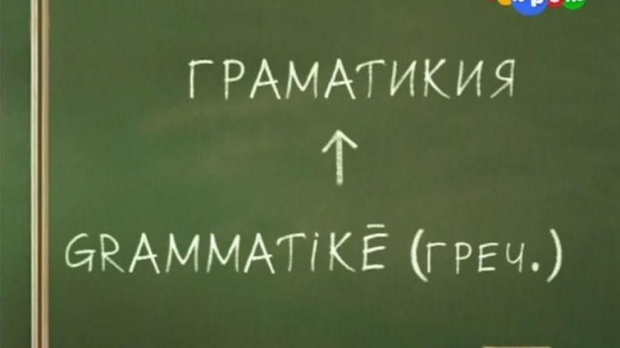 Говорим без ошибок. Выпуск 7. Грамота — грамматика / дока