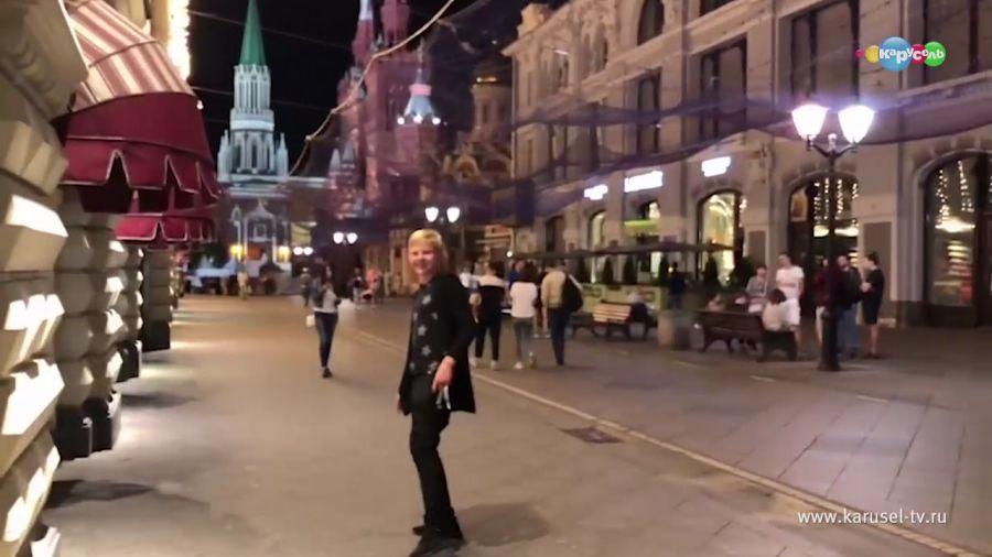 Прогулки по вечерней Москве