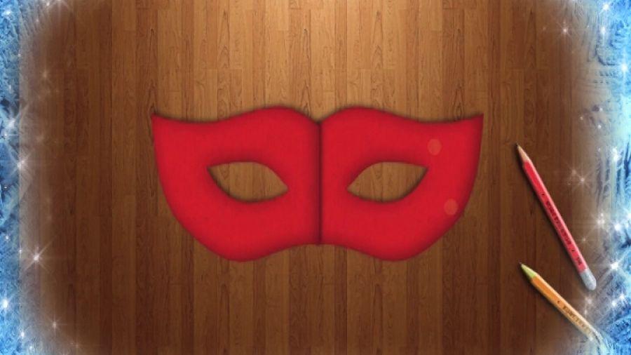 Давайте рисовать. Спецвыпуск №6. Делаем карнавальную маску