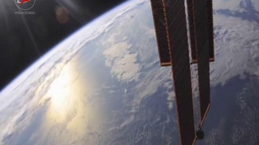 Закат на орбите