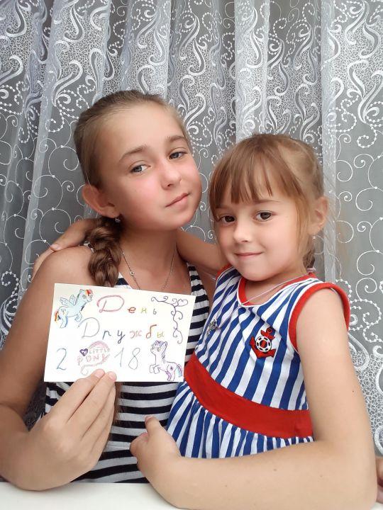 Дарина и Софья Евгеньевны Петровы