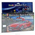 """Набор для сборки и раскрашивания модели """"Автомобиль Mercedes SLS AMG"""""""