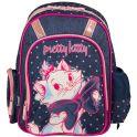 """Рюкзак школьный """"Marie Cat"""", цвет: темно-синий, розовый. MCCB-UT1-836"""