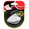 "Maped Точилка ""Signal"", цвет: белый, зеленый"
