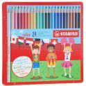 Stabilo Набор цветных карандашей Color 24 шт