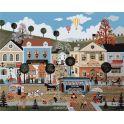 """Набор для рисования по номерам Цветной """"Город"""", 40 x 50 см"""