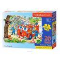 Castorland Пазл для малышей Пожарная машина