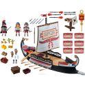 Playmobil Игровой набор Римляне и египтяне Корабль Римских воинов