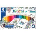 Staedtler Набор цветных карандашей Ergosoft 157 Джоанна Бэсфорд 36 цветов