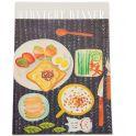 Еж-стайл Тетрадь Midnight Dinner 38 листов в линейку цвет черный