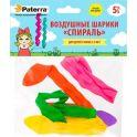 """Воздушные шарики Paterra """"Спираль"""", 5 шт"""