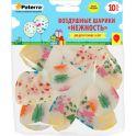 """Воздушные шарики Paterra """"Нежность"""", 30 см, круглые, прозрачные, 10 шт"""