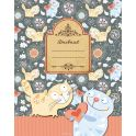 Апплика Дневник школьный для младших классов Паттерн Кошки С3620-10