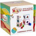 Mapacha Обучающая игра Сортер-матрешка Волшебный куб