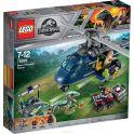 LEGO Jurassic World Конструктор Погоня за Блю на вертолете