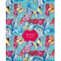 BG Дневник школьный Танец бабочек цвет бирюзовый, мультиколор