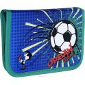 Gulliver Пенал школьный Футбол цвет синий