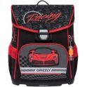 Grizzly Рюкзак школьный с мешком цвет черный красный RA-874-1/2