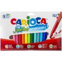 Carioca Набор фломастеров Jumbo 18 цветов
