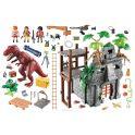 Playmobil Игровой набор Динозавры Затерянный храм с тиранозавром