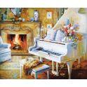 """Картина по номерам Школа талантов """"Рояль"""", 1387459, 30 х 40 см"""