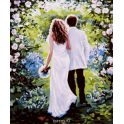 """Картина по номерам Школа талантов """"Свадьба для двоих"""", 2467685, 30 х 40 см"""