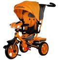 """LAMBORGHINI L3O Велосипед с руч. управ.,надув.колеса 12""""/10"""", своб.ход, ,фара свет.звук,оранж"""