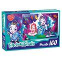 Enchantimals AST188872 Пазл Пэттер и Бри 160 элементов
