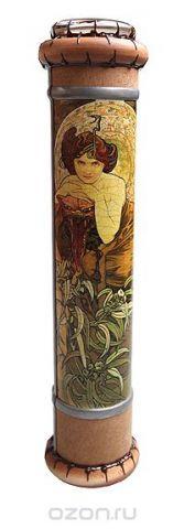 """Калейдоскоп """"Муха"""". Шпон, кракелюрный лак, зеркала, металл, стекло, акрил, дерево. Ручная авторская работа"""