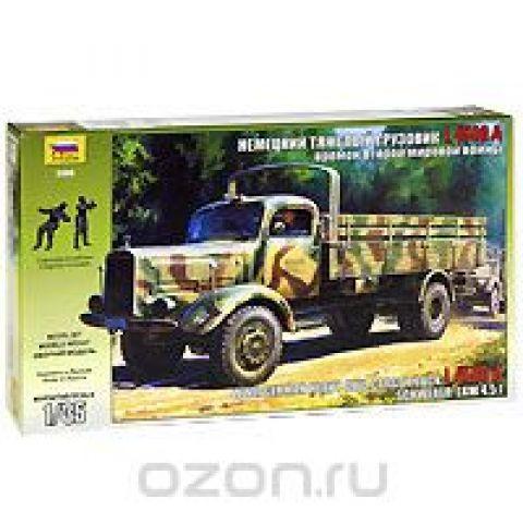 """Сборная модель """"Немецкий тяжелый грузовик L 4500 A"""""""