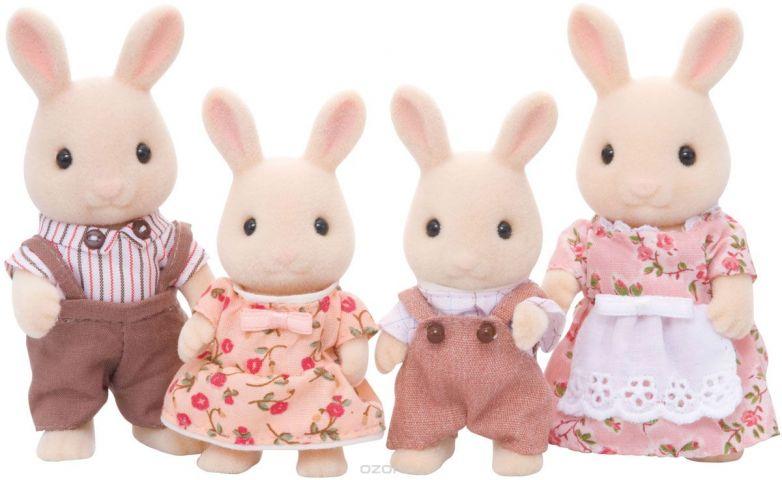 Sylvanian Families Набор фигурок Семья Молочных Кроликов