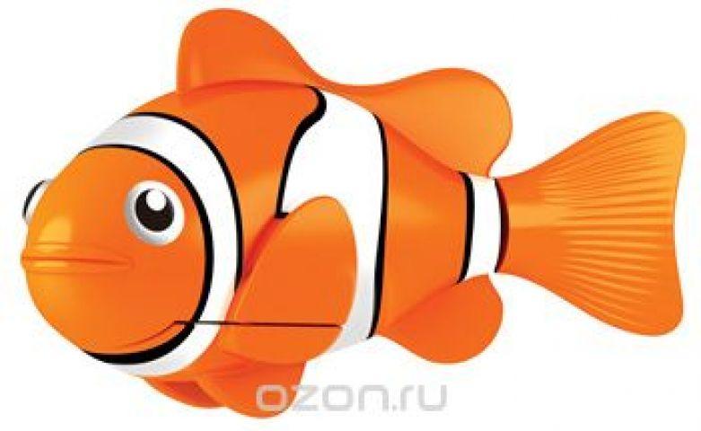 """Игрушка для ванны Robofish """"РобоРыбка: Клоун"""", цвет: оранжевый, белый"""