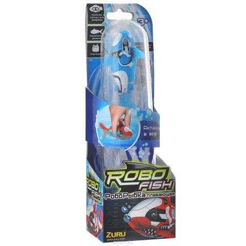"""Игрушка для ванны Robofish """"РобоРыбка: Акула"""", цвет: голубой"""