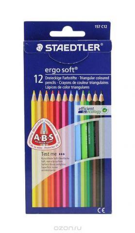 Staedtler Набор цветных карандашей Ergosoft 157 12 цветов