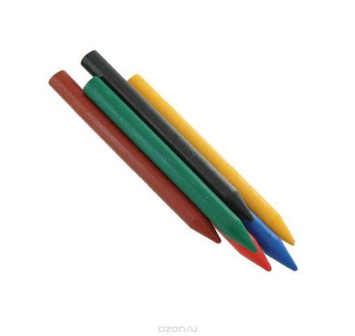 """Восковые карандаши """"Луч"""", 6 цветов"""