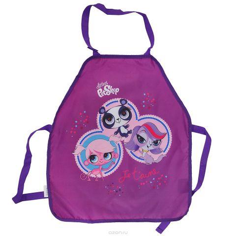 """Фартук для детского творчества """"Littlest Pet Shop"""", цвет: фиолетовый"""