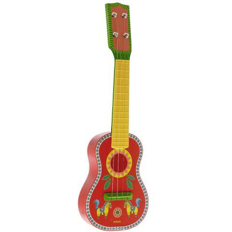 """Djeco Гитара """"Animambo"""", цвет: красный, зеленый, желтый"""