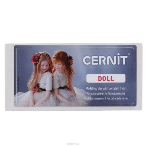 "Пластика Cernit ""Doll"", цвет: белый (010), 500 г"