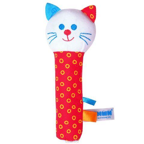 """Мягкая игрушка-погремушка """"Котик"""""""