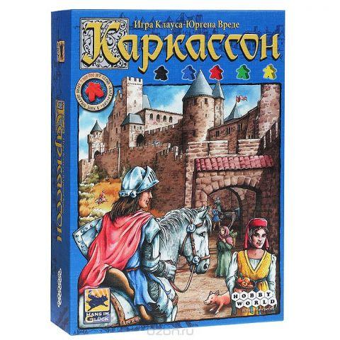 Hobby World Настольная игра Каркассон (2-е издание)