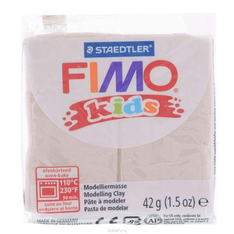 """Полимерная глина для детей Fimo """"Kids"""", цвет: телесный (43), 42 г"""
