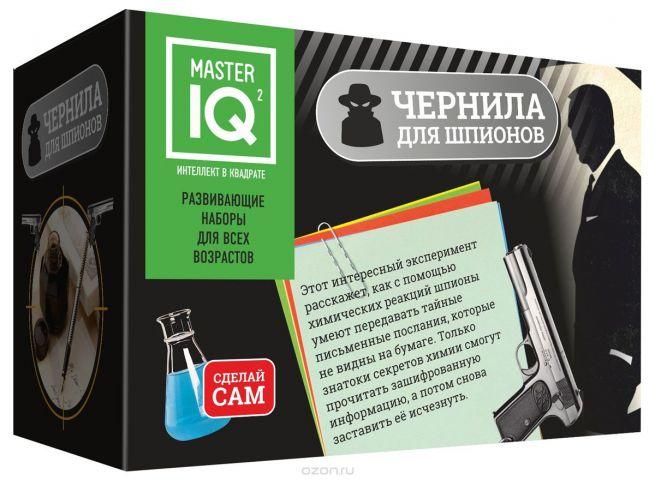 Master IQ Набор для опытов и экспериментов Чернила для шпионов