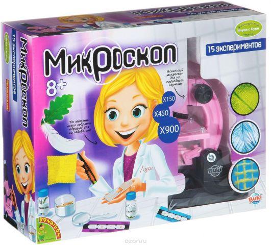 Bondibon Набор для опытов Микроскоп для девочек