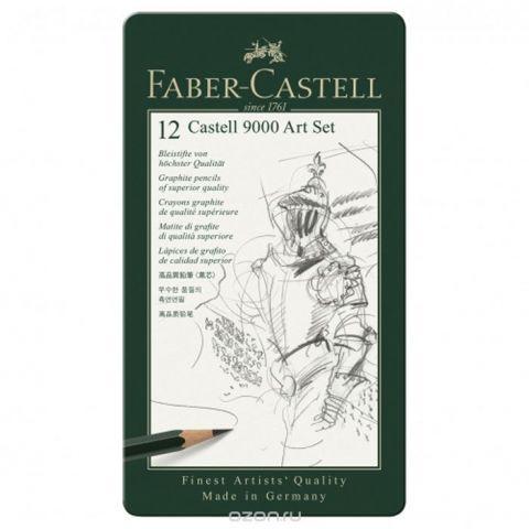 Faber-Castell Карандаш чернографитовый 12 шт