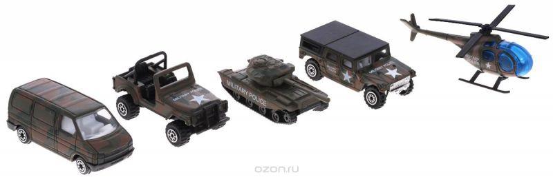 Welly Игровой набор Военно-полицейская команда 5 предметов